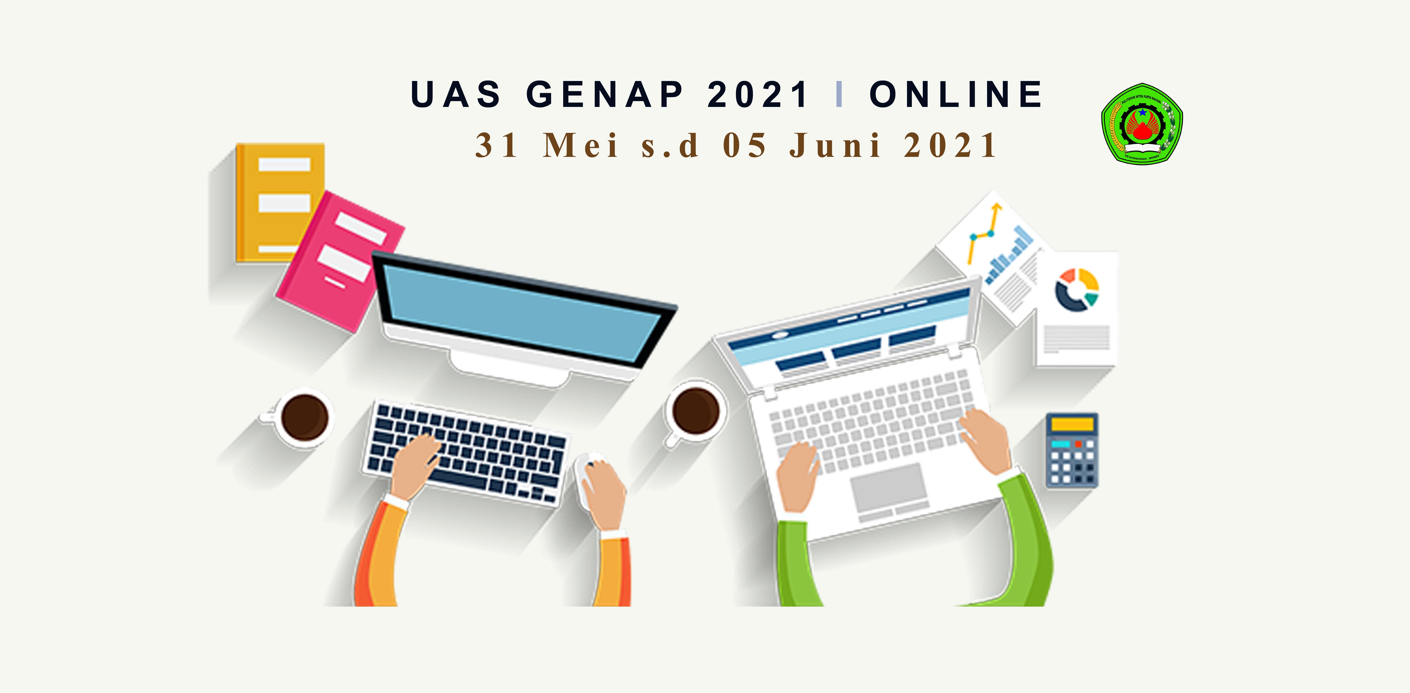 Jadwal UAS Genap 2021